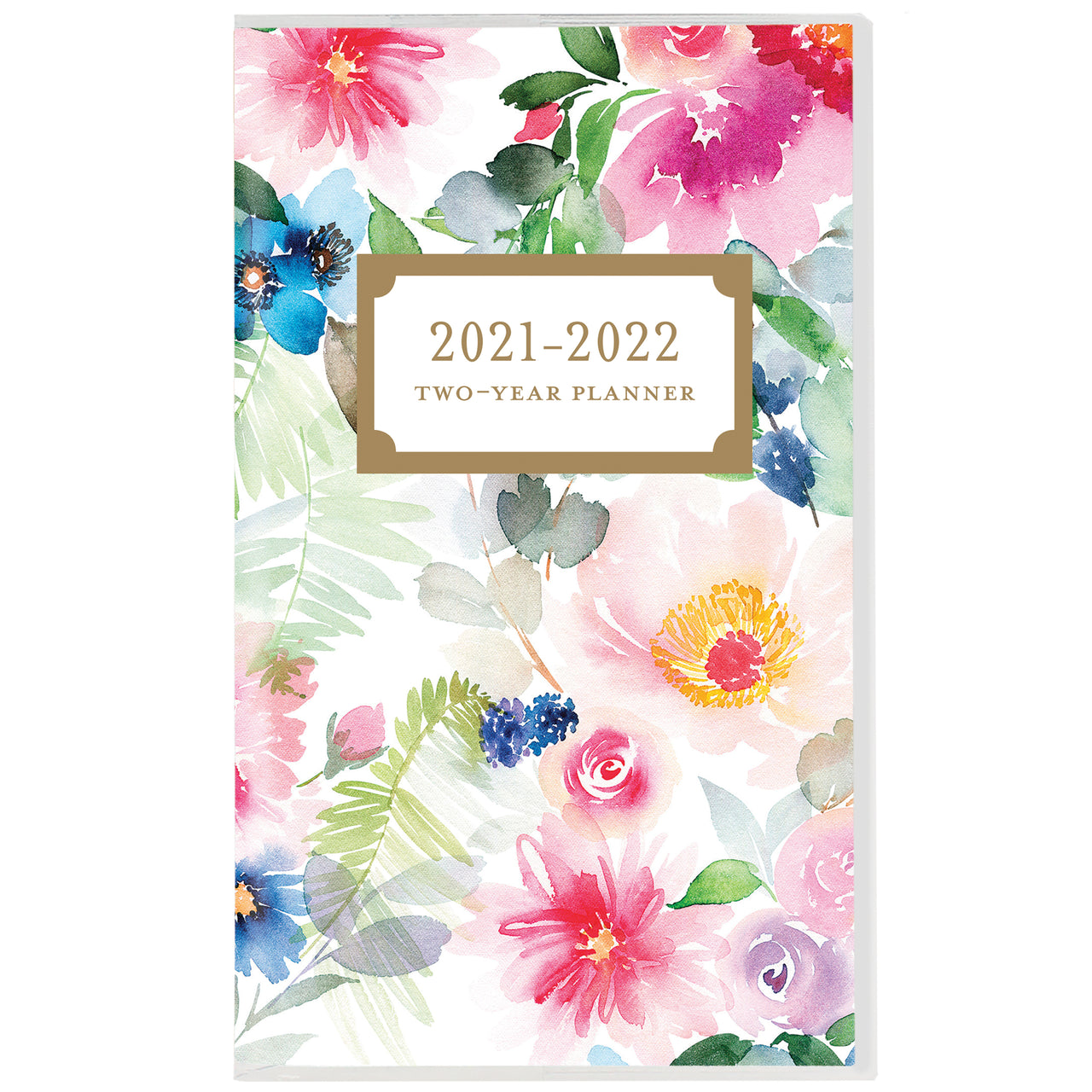 Happy floral 2 Year Planner