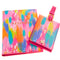 Etta Vee Brush Strokes Passport Case & Luggage Tag Set