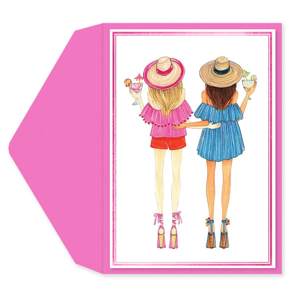 Friends and Margaritas Friendship Card