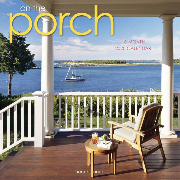 On the Porch Wall Calendar