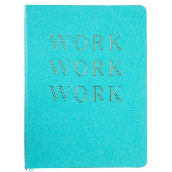 Work 6x8 Vegan Leather Journal