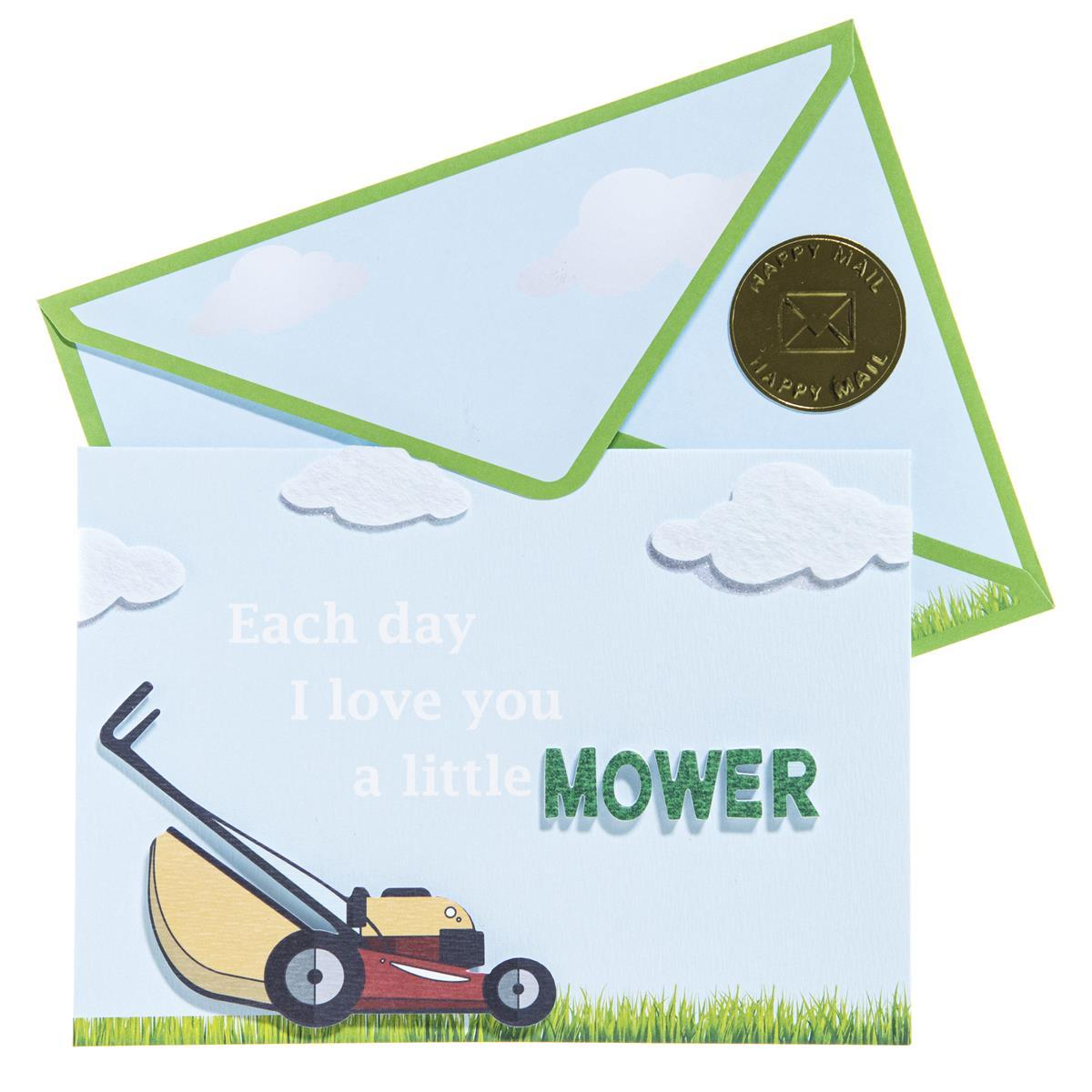 Father's Day Mower Seasonal Handmade
