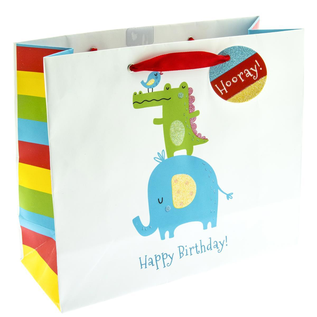 Animal Stack Medium Gift Bag