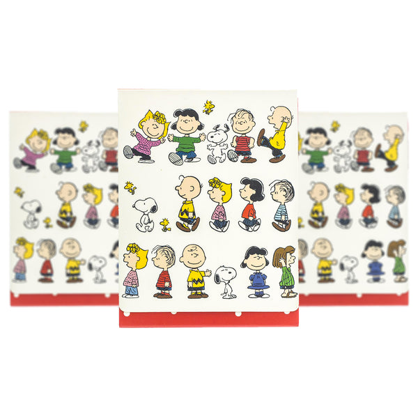 Graphique Peanuts Pocket Notes Set of Three ($20.00 Value)