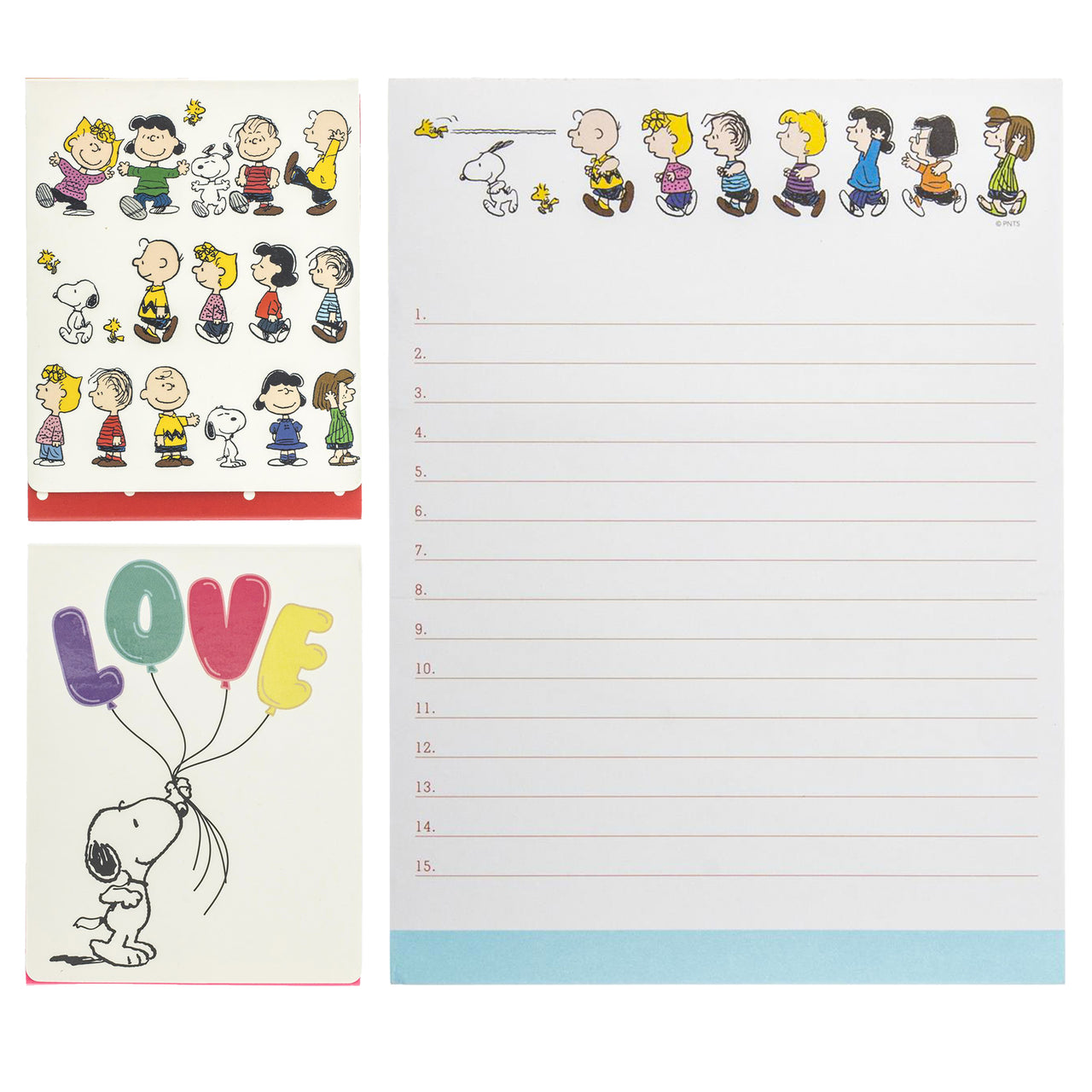 Graphique Peanuts Stationery Set ($26.00 Value)