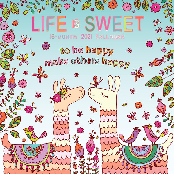 Life is Sweet Wall Calendar