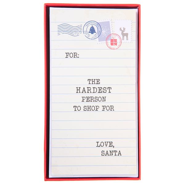 hardest Person to shop for Holiday Money Holder Boxed Cards