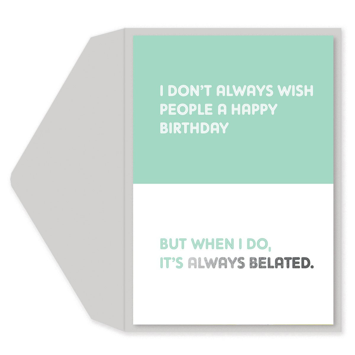 Feel Special Birthday Card