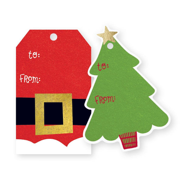 Christmas Eve Holiday Duo Gift Tags