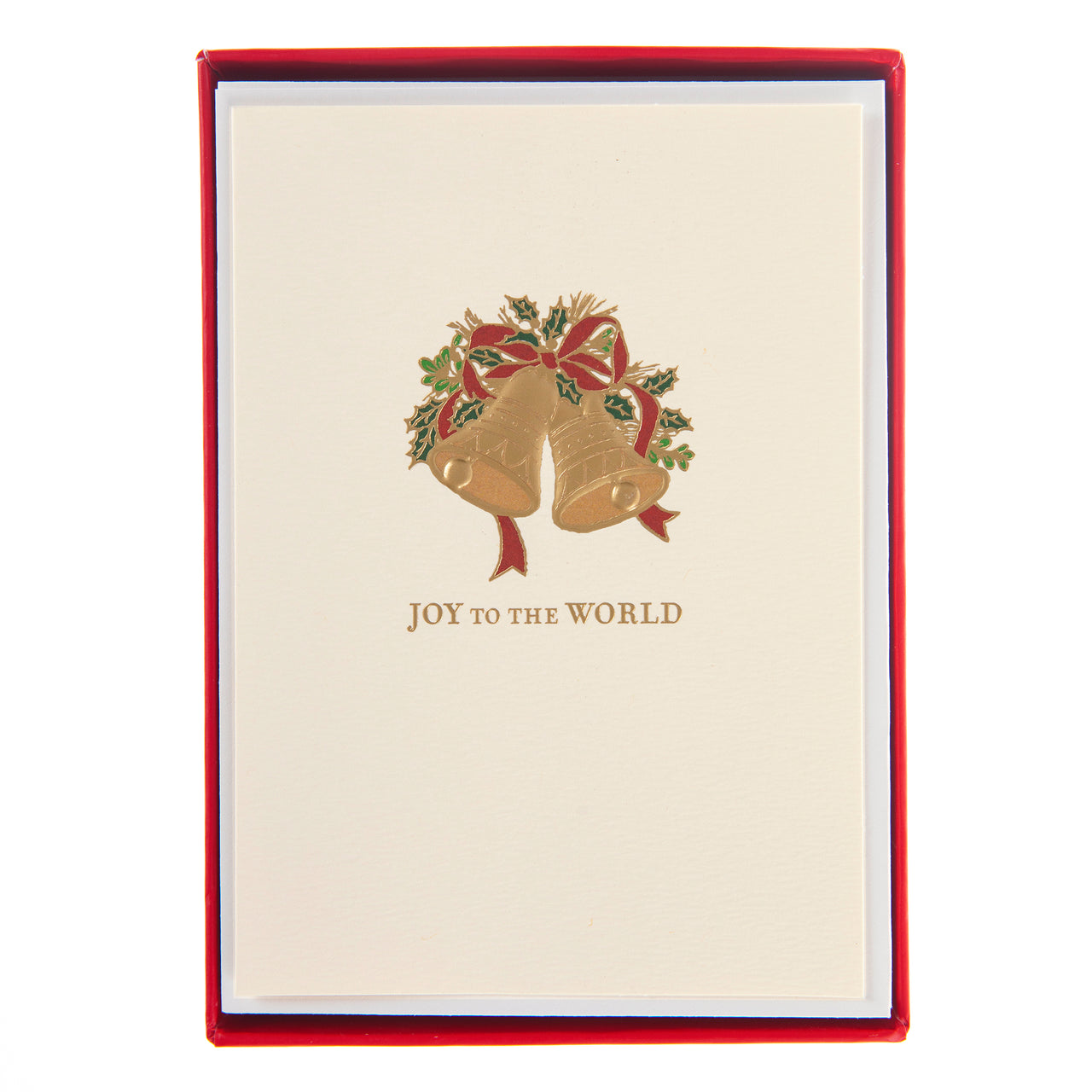 Joy to the World Bells Holiday Petite Boxed Cards