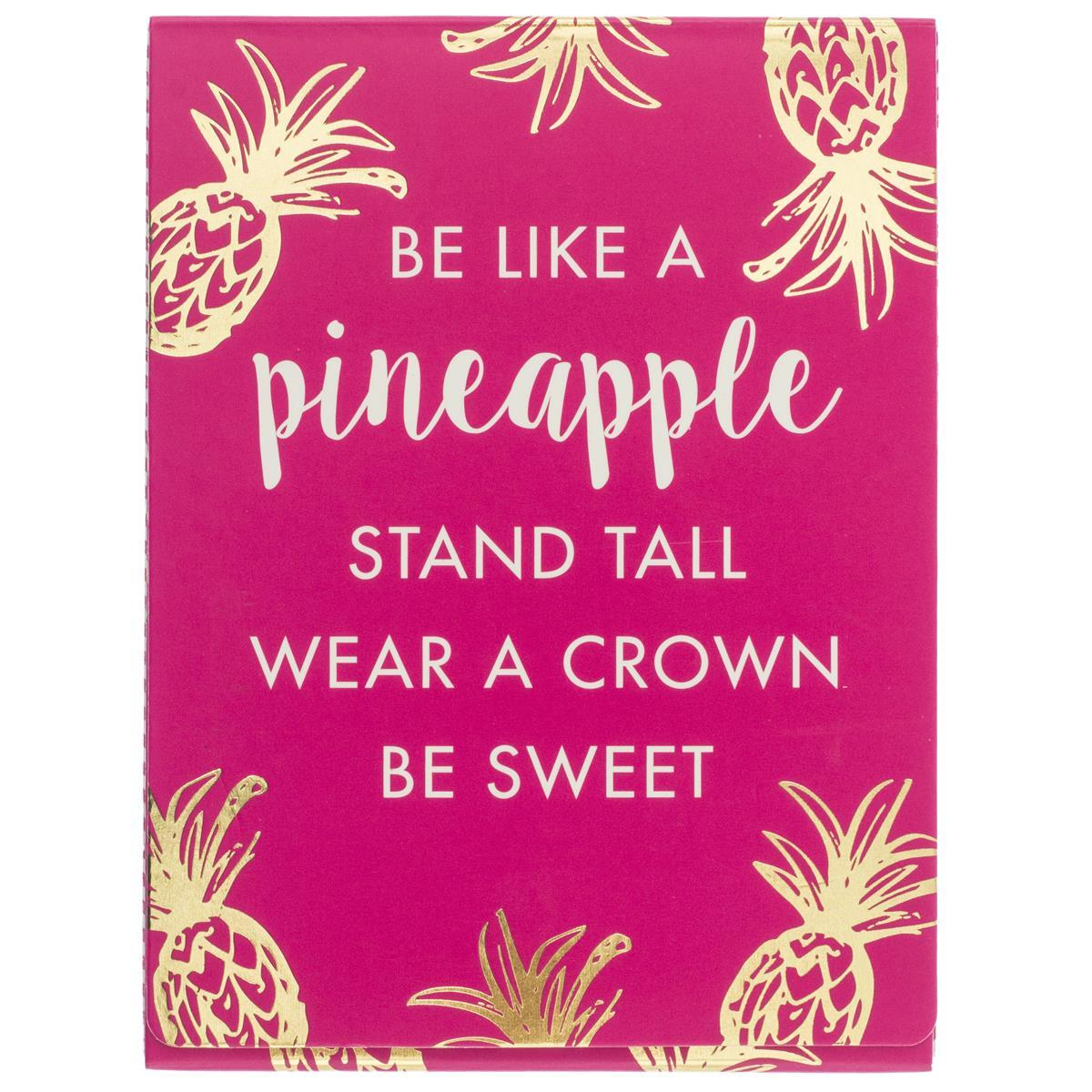 Be Like a Pineapple Pocket Note