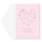Heart Constellation Anniversary Card