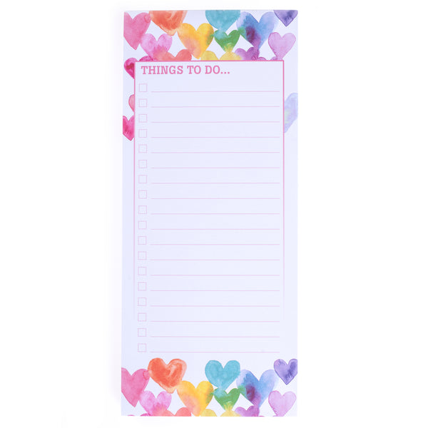 Love in Color Magnetic Notepad