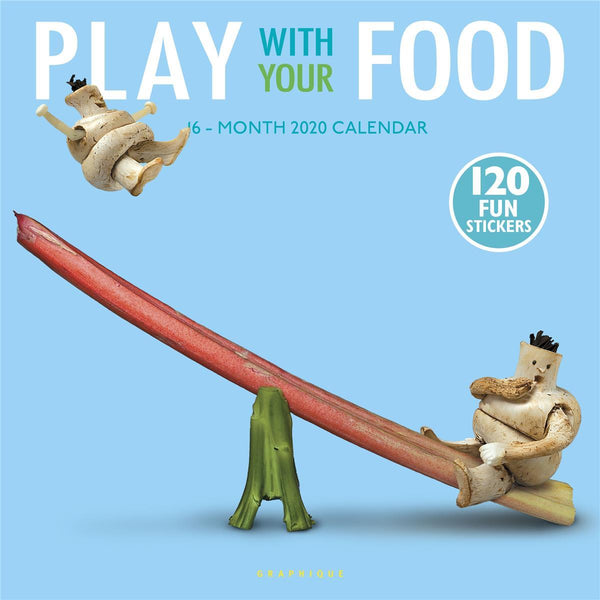 Play With Your Food Wall Calendar