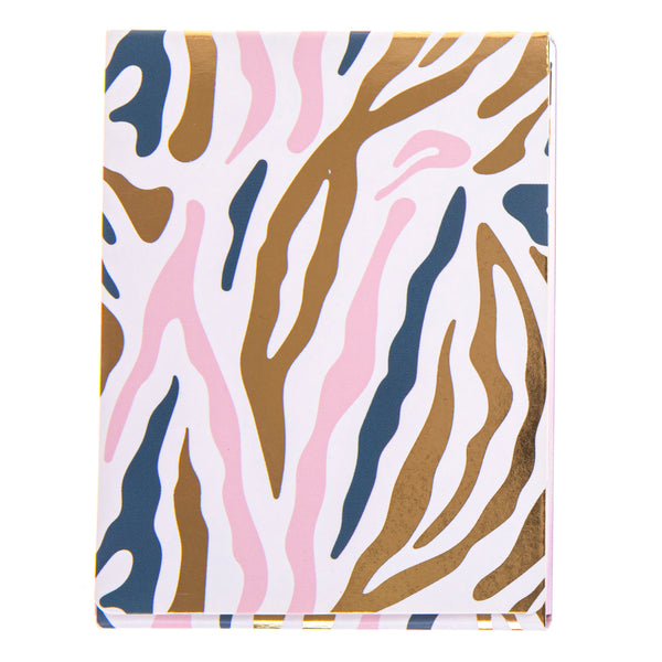 Zebra Print Pocket Note