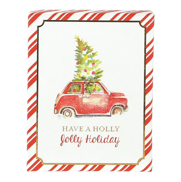 Christmas Tree Car Gift Card Box
