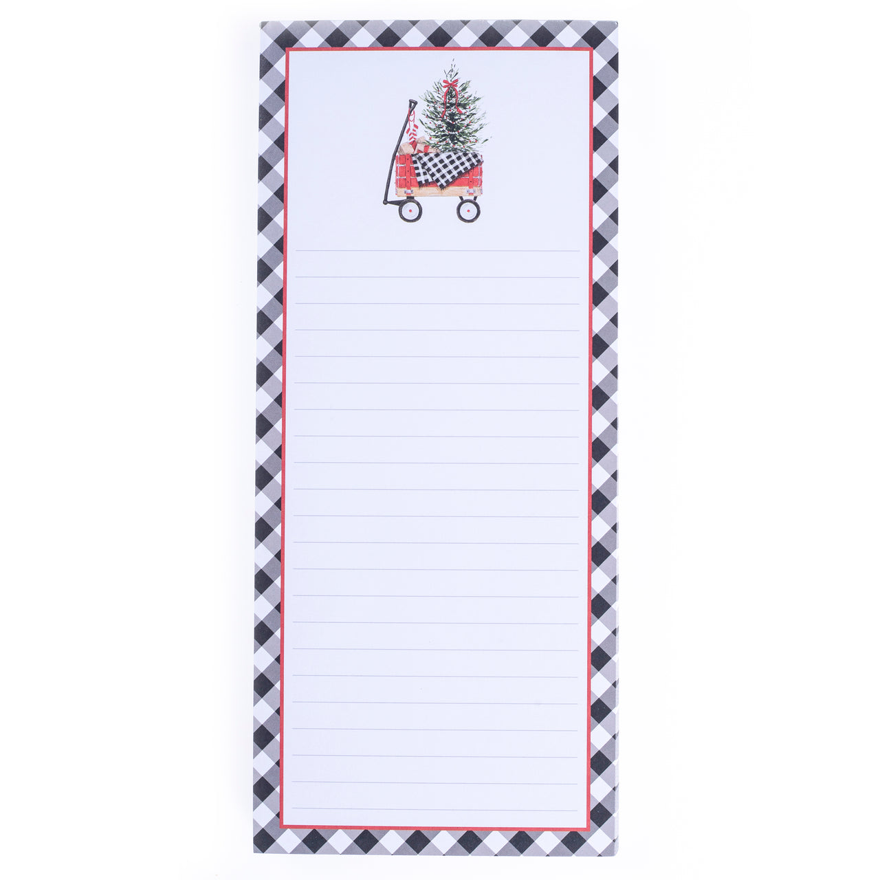 Wagon Holiday Magnetic Notepad
