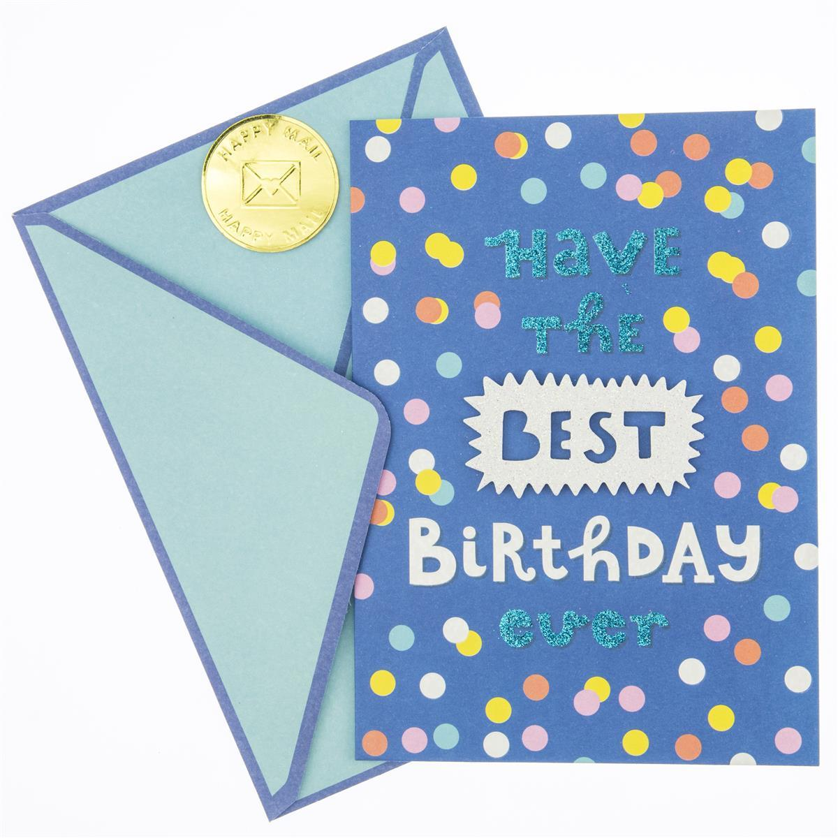 Best Ever Birthday Handmade Card