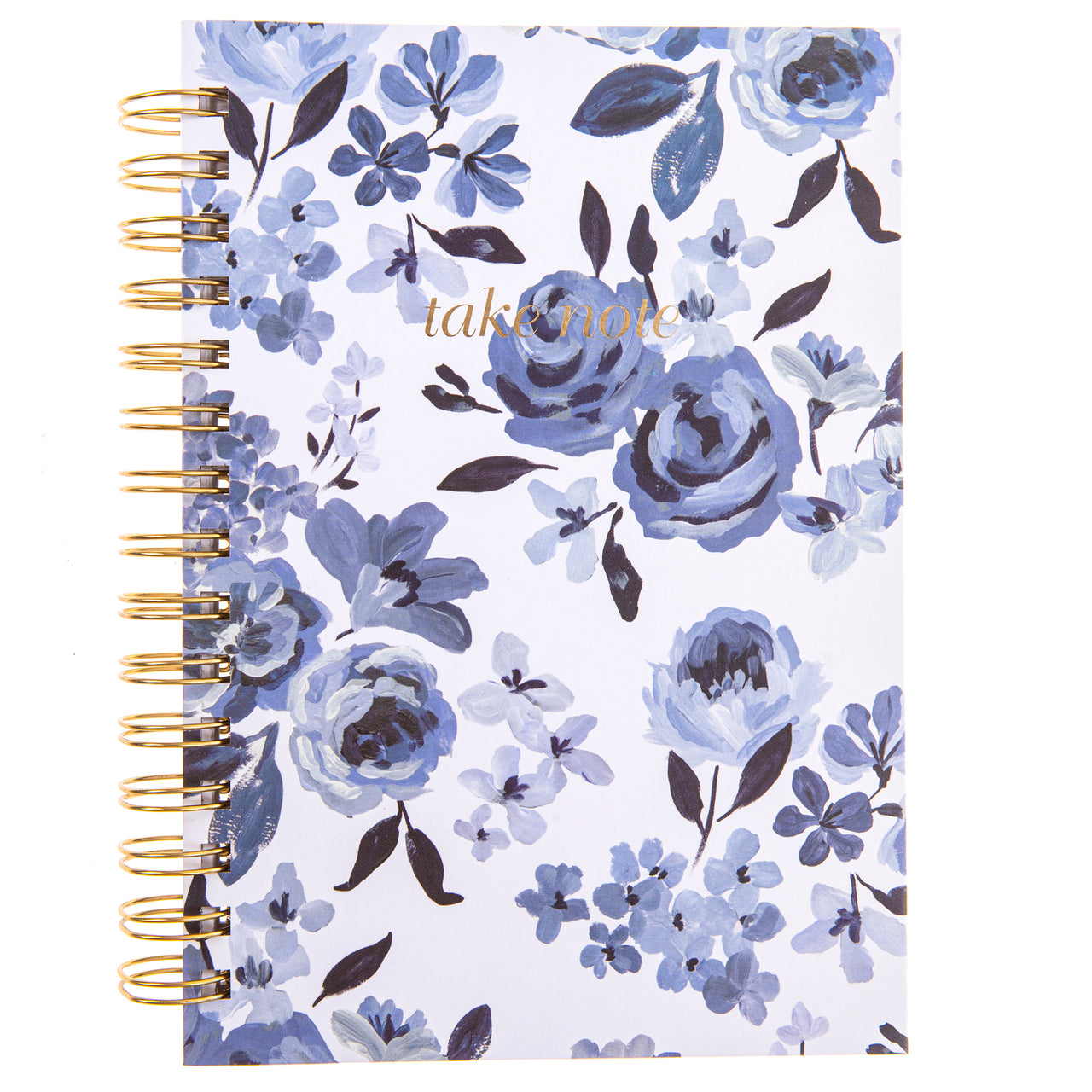 Caitlin Wilson Floral 6x8 Spiral Hard Cover Journal