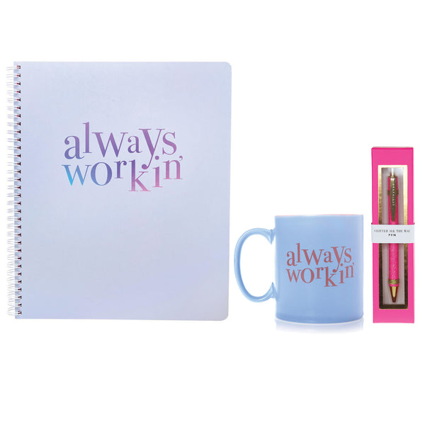 Always Workin' Desk Set ($45.00 Value)