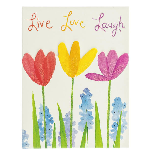 Live, Love, Laugh Pocket Note