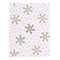 Gold Snowflake Holiday Pocket Notes