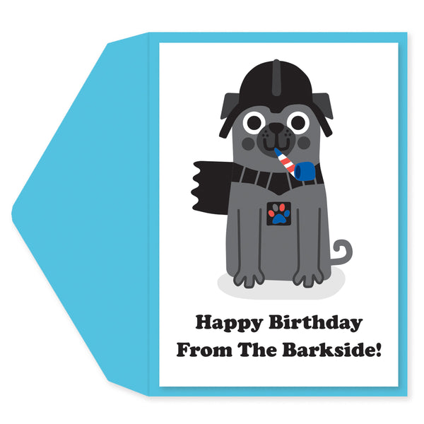 Barkvader Birthday Card