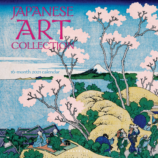Japanese Art Collection Wall Calendar
