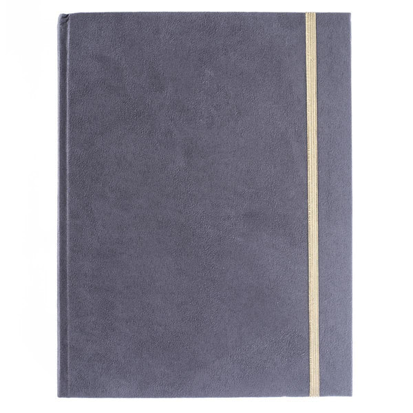Graphite Suede 6x8 Hardbound Journal