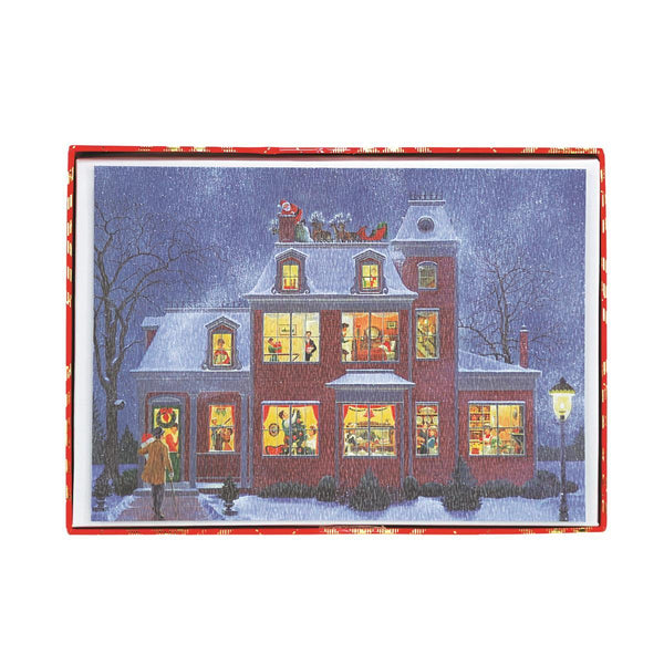 Advent House Holiday Large Boxed Cards