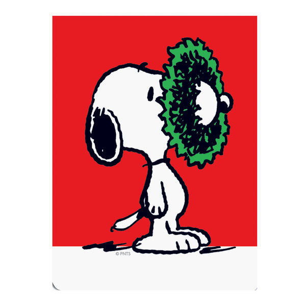 Peanuts™ Nose Wreath Holiday Pocket Notes