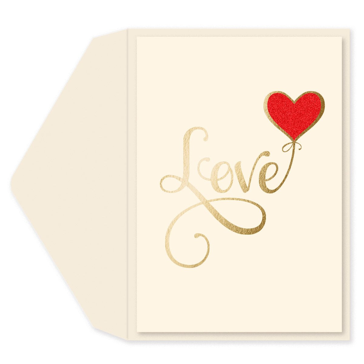 Love Balloon Anniversary Card