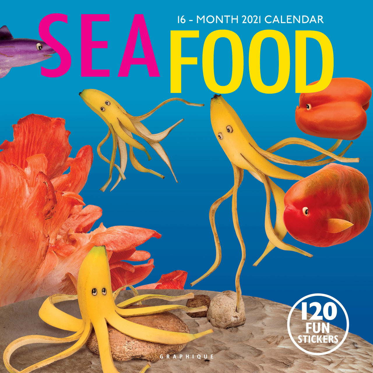 Sea Food Wall Calendar