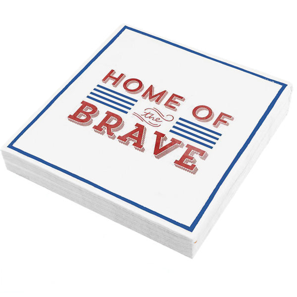 Home of the Brave Napkins