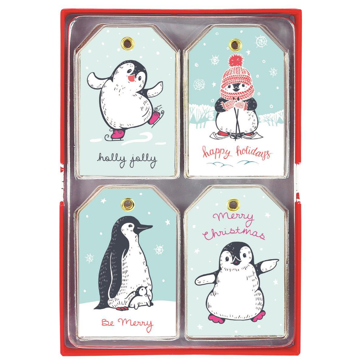 Penguin Set Holiday Petite Gift Tag Set