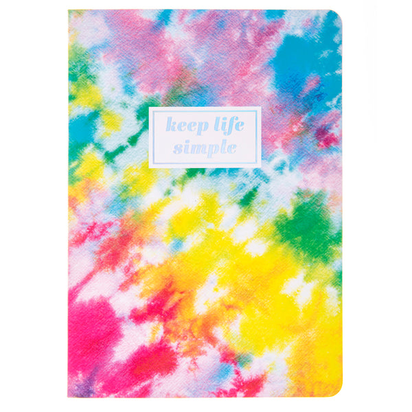 Tie Dye 6x8 Soft Cover Paper Journal