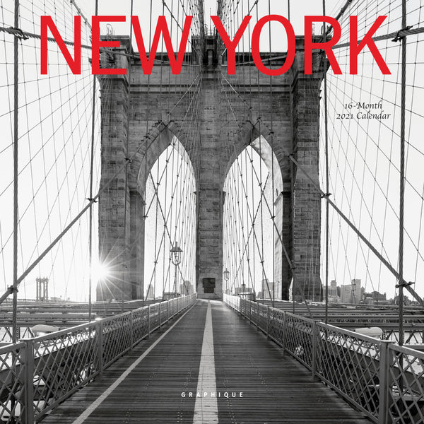 New York Mini Calendar
