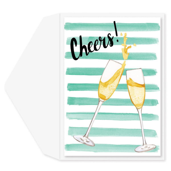 Cheers Congratulations Card