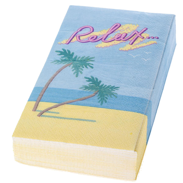 Relax Guest Napkins 20ct