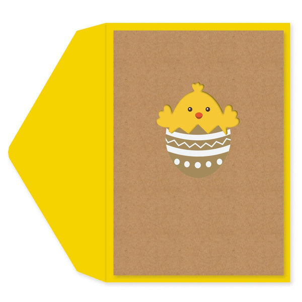 Easter Egg Chick Easter Card