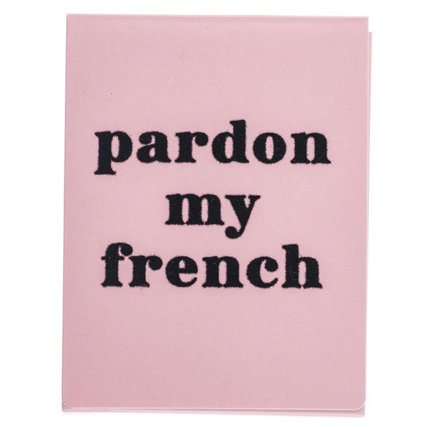 Pardon My French Pocket Note
