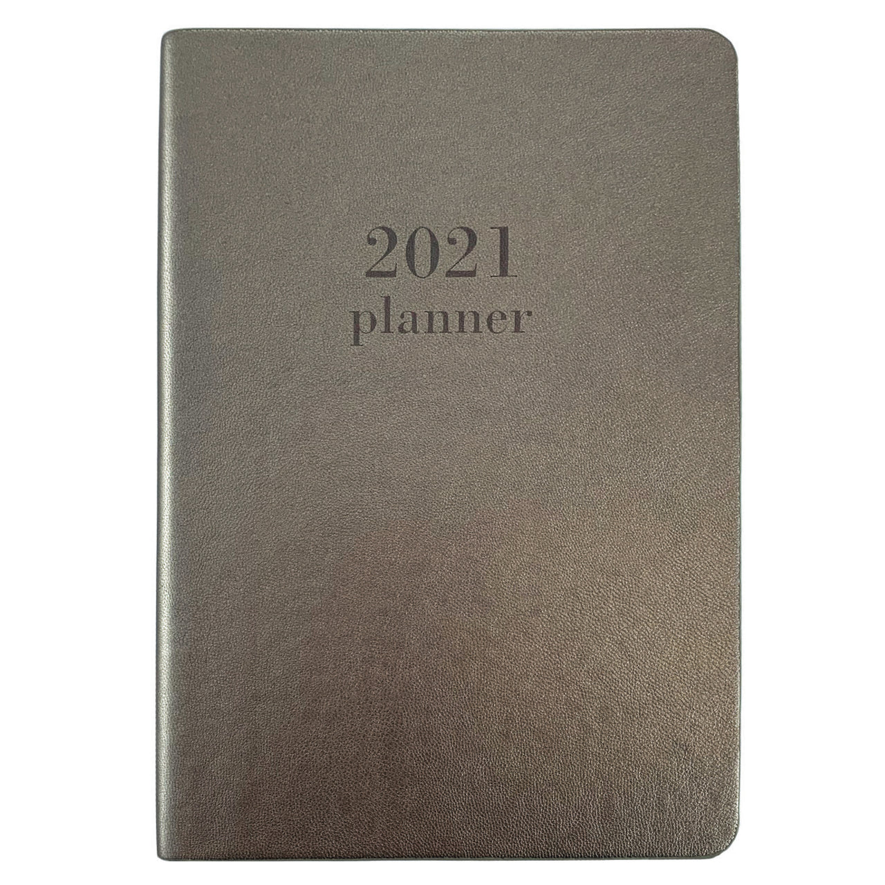 Pewter Medium 18-Month Soft Cover Planner