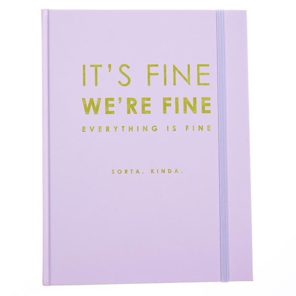 It's Fine 6x8 Hardbound Journal