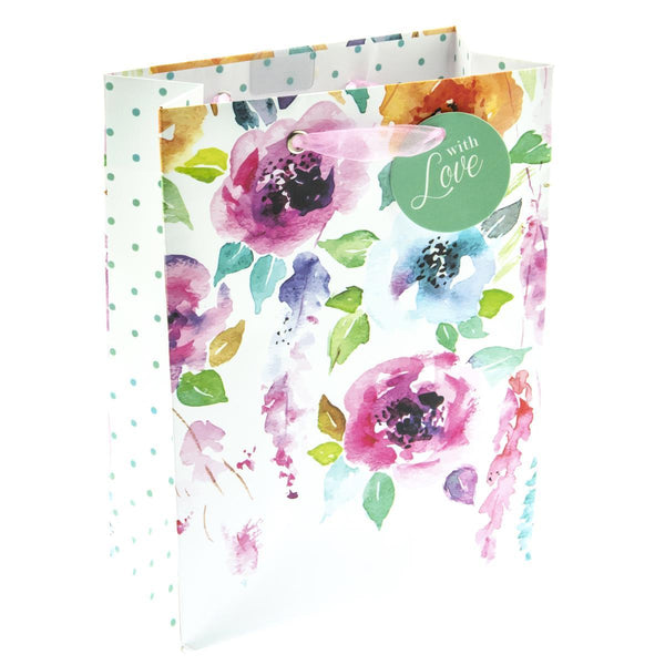 Hanging Flowers Small Gift Bag
