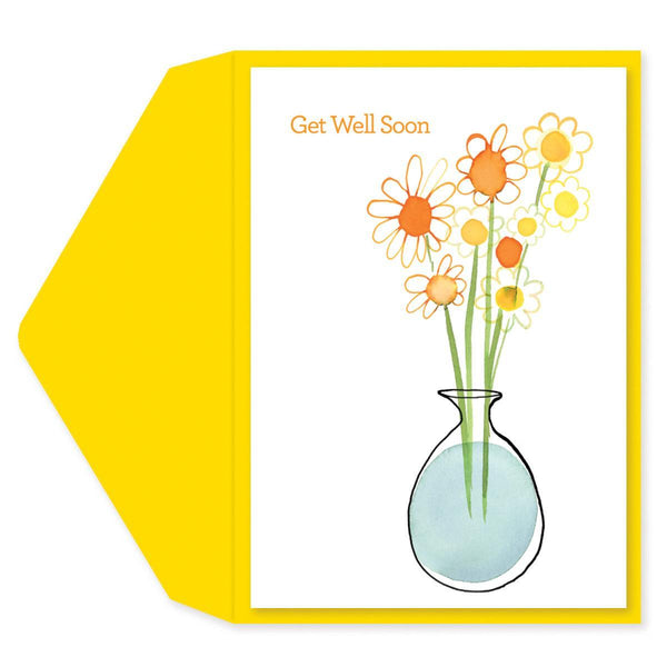 Daisies Get Well Card