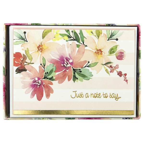 Floral Watercolor Everyday Boxed Cards