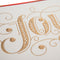 Joy Gold Large Boxed Cards