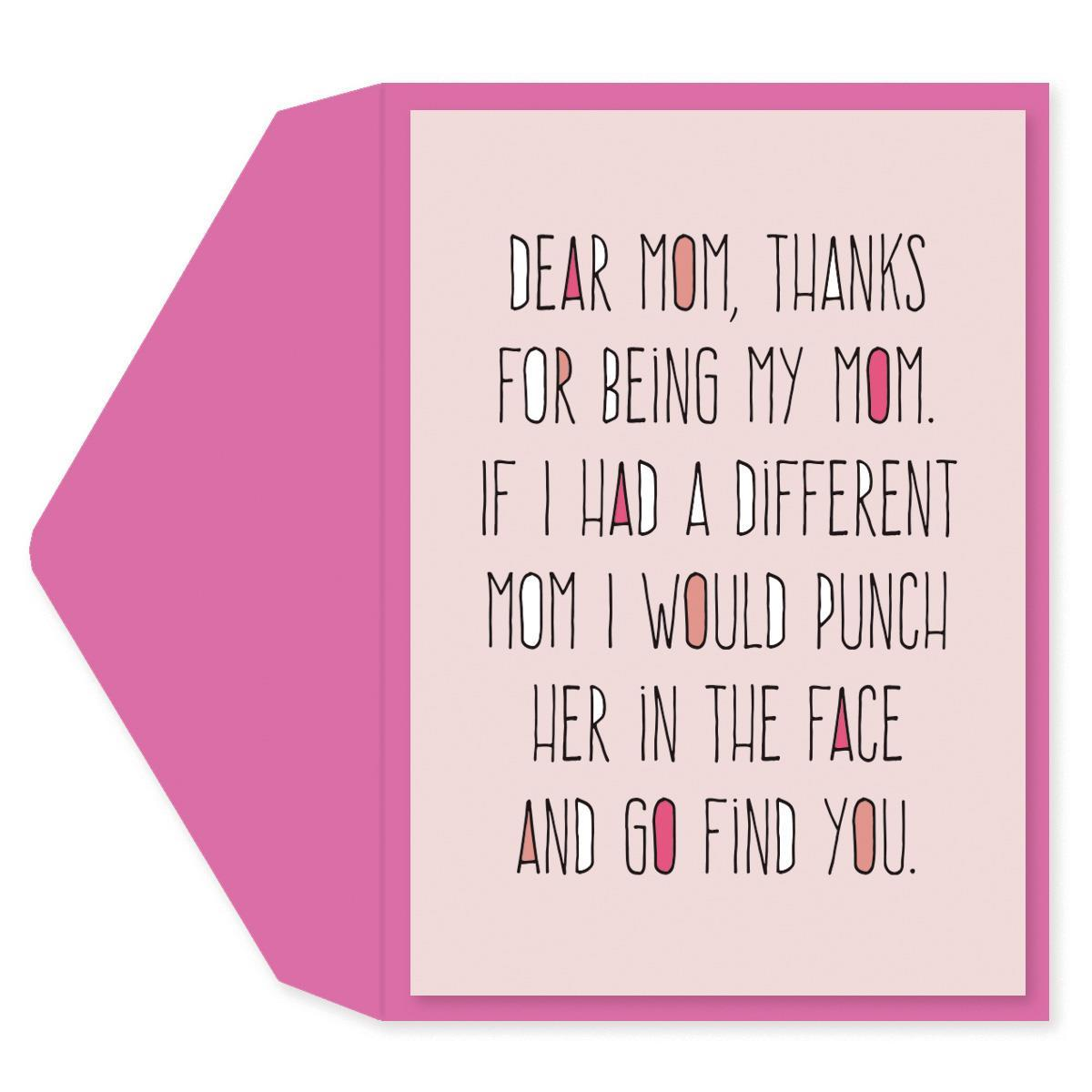 Dear Mom Mother's Day Card