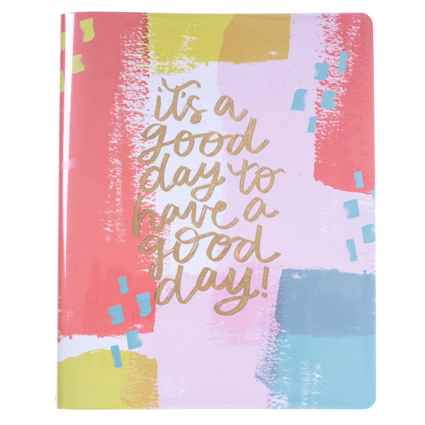Joyful Abstract 8x10 Vinyl Undated Planner