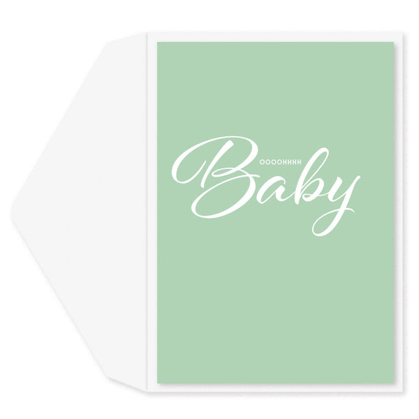 Oh Baby Baby Card